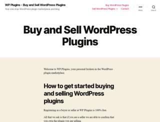 wpplugins.com screenshot