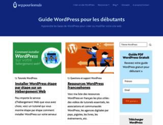 wppourlesnuls.com screenshot