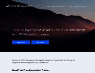 wppricecomparison.com screenshot