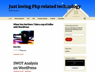 wprandho.wordpress.com screenshot
