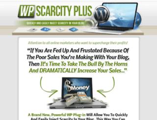 wpscarcityplus.com screenshot