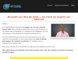 wpschool.net screenshot