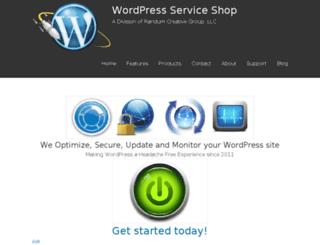 wpserviceshop.com screenshot
