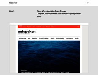 wpshower.com screenshot