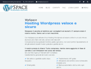 wpspace.it screenshot