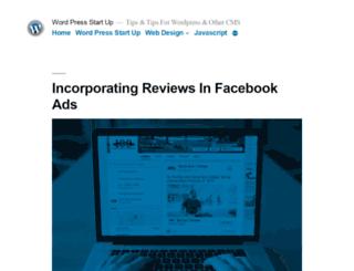 wpstart.org screenshot