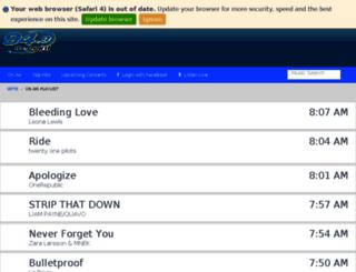 wpte.tunegenie.com screenshot