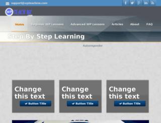 wpteachme.com screenshot