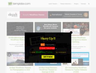 wptemplate.com screenshot