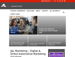 wptest.jandlmarketing.com screenshot
