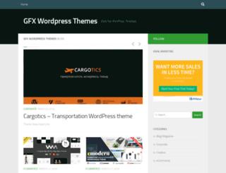 wpthemes.gfxturk.com screenshot