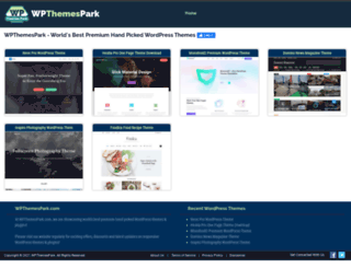 wpthemespark.com screenshot