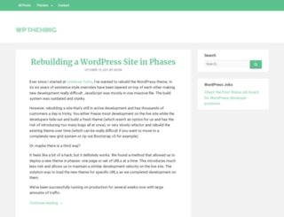 wptheming.com screenshot