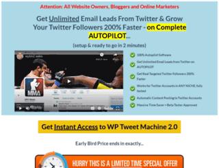 wptweetmachine.com screenshot