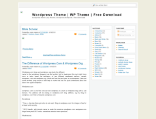 wpwordpresstheme.blogspot.com screenshot
