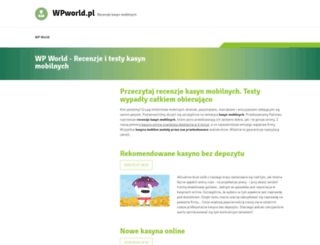 wpworld.pl screenshot