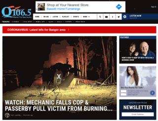 wqcb-fm.com screenshot