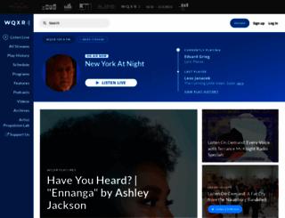wqxr.com screenshot