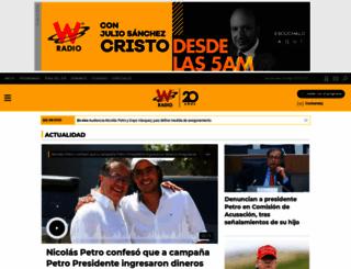 wradio.com.co screenshot