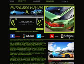wrappedbyruthless.com screenshot