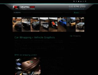 wrappingcars.co.uk screenshot