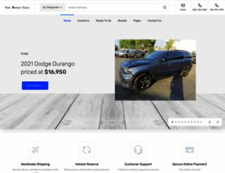 wreckedcarsforsale.com screenshot