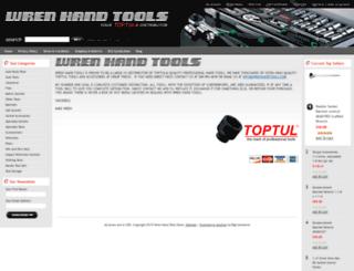 wrenhandtools.com screenshot