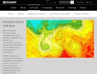 wrep.ecmwf.int screenshot
