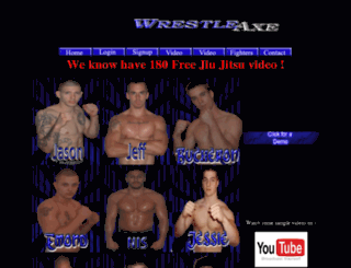 wrestleaxe.com screenshot