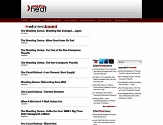 wrestleheat.com screenshot