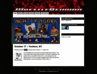 wrestlereunion.com screenshot