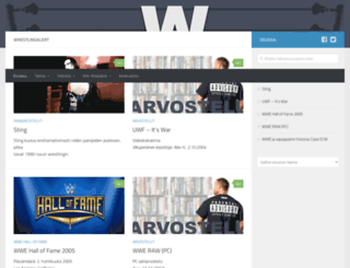 wrestlingalert.com screenshot