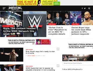 wrestlingnewspost.com screenshot