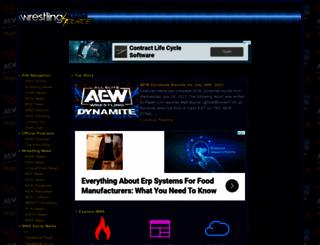 wrestlingnewssource.com screenshot