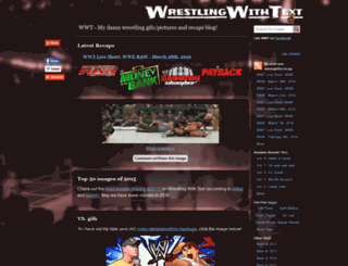wrestlingwithtext.com screenshot