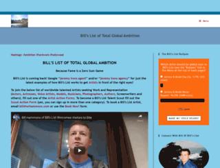 wrhammons.com screenshot
