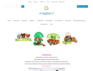 wrigglepot.com.au screenshot