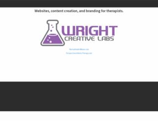 wrightcreativelabs.com screenshot