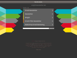 wrightnewsletter.net screenshot