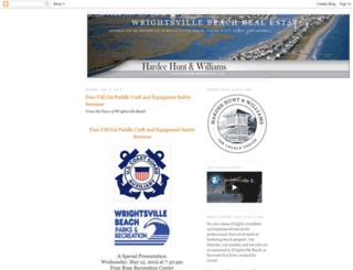 wrightsvillebeachrealestatesales.com screenshot