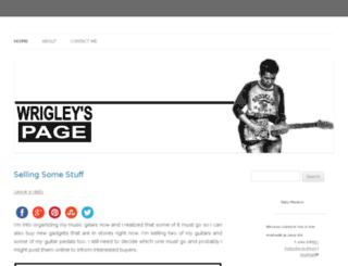 wrigley186.com screenshot