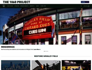 wrigleyfield.com screenshot