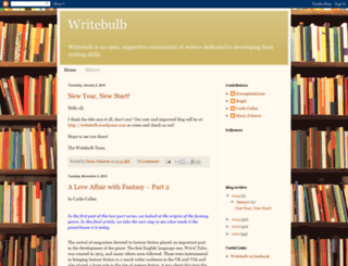 write-bulb.blogspot.com screenshot