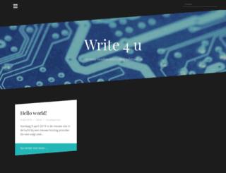 write4u.nl screenshot
