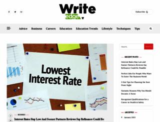 writedge.com screenshot