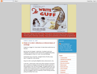 writeguff.blogspot.com screenshot