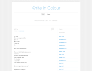 writeincolour.com screenshot