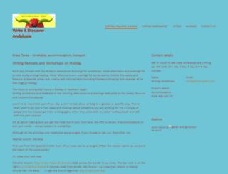 writeinspain.com screenshot