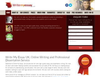 writemyessay.co.uk screenshot