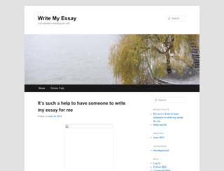 writemyessay.freeblog.biz screenshot